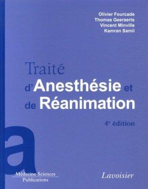 Traité d'Anesthésie et de Réanimation-lavoisier msp-9782257205605