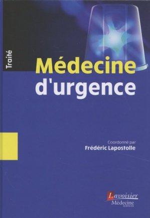 Traité de Médecine d'urgence-lavoisier-9782257206725