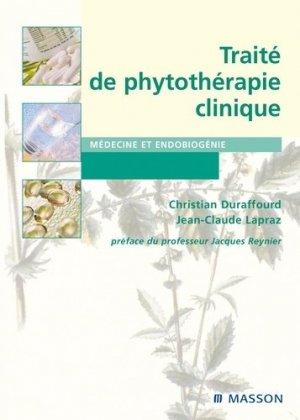Traité de phytothérapie clinique - elsevier / masson - 9782294770494