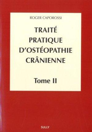 Traité pratique d'ostéopathie crânienne - sully - 9782354322298