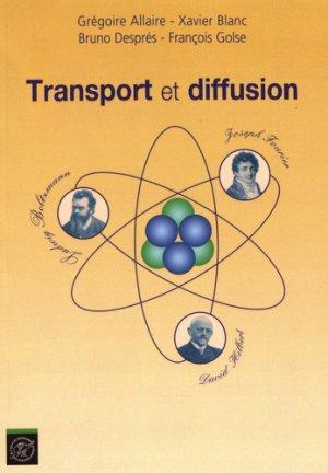 Transport et diffusion-ecole polytechnique-9782730216753