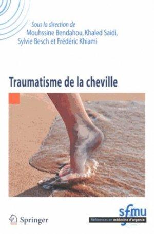 Traumatisme de la cheville - springer - 9782817803517