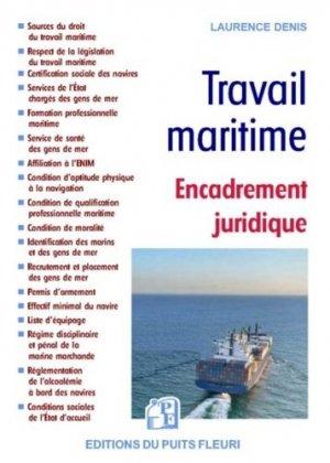 Travail maritime - puits fleuri - 9782867396373