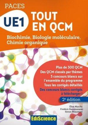 UE1 Tout en QCM - PACES - édiscience - 9782100753598