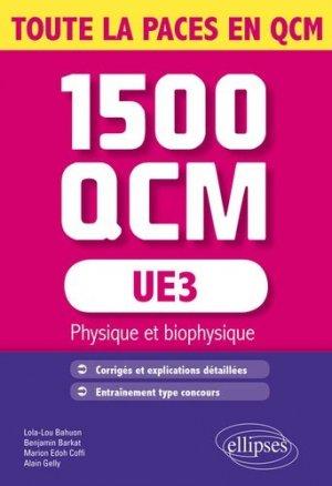 UE3 - 1500 QCM-ellipses-9782340001008