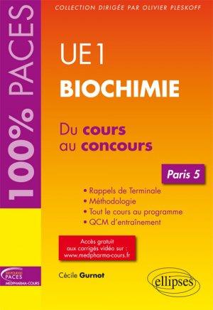 UE1 - Biochimie (Paris 5)-ellipses-9782340013667