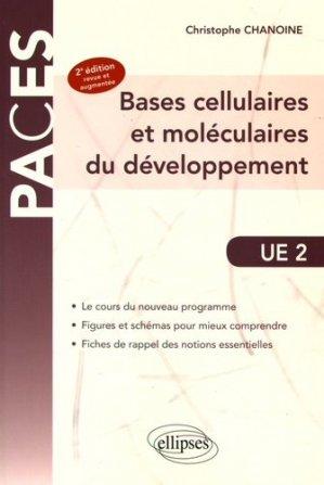 UE2 - Bases cellulaires et moléculaires du développement-ellipses-9782340013797