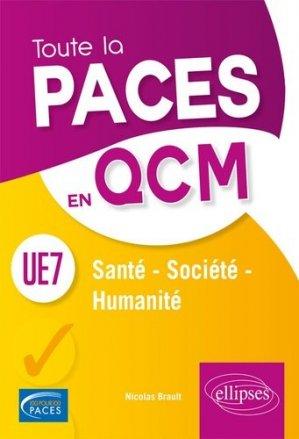 UE7 Santé, Société, Humanité - ellipses - 9782340022515