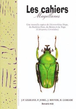 Une nouvelle espèce de Dicronorhina Hope, du Burkina Faso, du Bénin et du Togo-magellanes-9782911545986