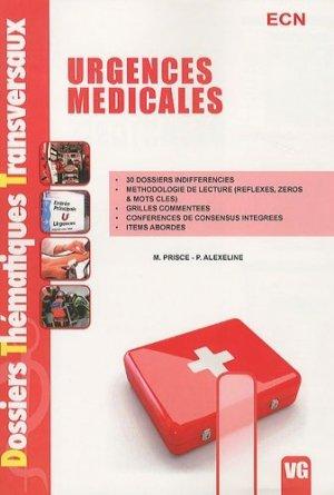 Urgences médicales-vernazobres grego-9782818300688