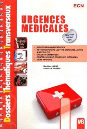 Urgences médicales-vernazobres grego-9782818305676
