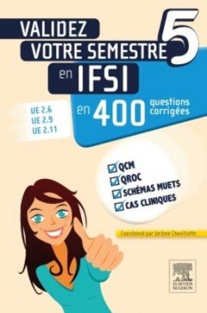 Validez votre semestre 5 en IFSI en 400 questions corrigées-elsevier / masson-9782294741074