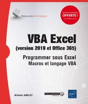 Vba excel (version 2019 et office 365)-eni-9782409018671