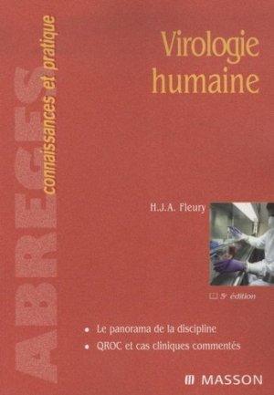 Virologie humaine - elsevier / masson - 9782294704321