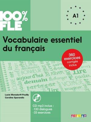 Vocabulaire Essentiel du Français Niv. A1 2018 - Livre + CD-didier-9782278090891