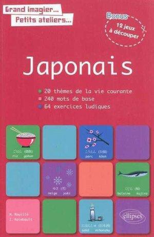 Le Japonais en Images avec Exercices Ludiques Corrigés Apprendre & Réviser les Mots de Base-ellipses-9782729862855