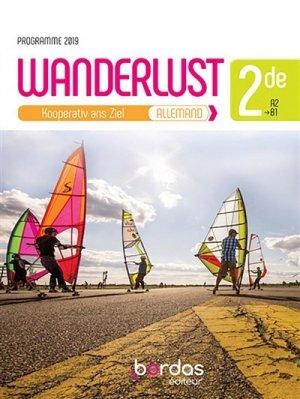 Wanderlust, allemand 2de-bordas-9782047336380