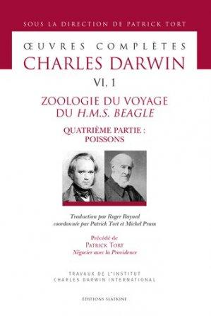 Zoologie du voyage du H.M.S. Beagle-slatkine-9782051028356