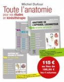 Anatomie de l'appareil locomoteur Pack 4 volumes