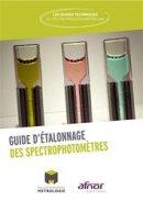 Guide d'étalonnage des spectrophotomètres