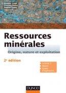 Ressources min�rales