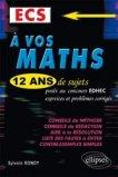 À vos maths ECS