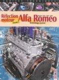 Alfa Romeo Biarbre 1300, 1600, 1800 Réfection moteur