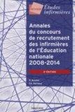 Annales du concours de recrutement des infirmières de l'Éducation nationale 2008-2014