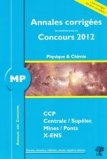 Annales des concours MP physique et chimie 2012