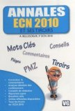 Annales ECN 2010 et ses tiroirs