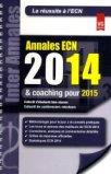 Annales ECN 2014 et coaching pour 2015