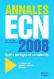 Annales ECN 2008