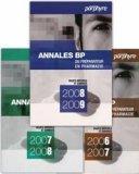 Annales BP du Préparateur en Pharmacie