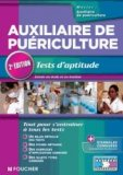 Auxiliaire de puériculture Tests d'aptitude