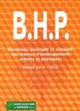 B.H.P Bordereau descriptif des travaux d'aménagements urbains et paysagers