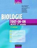 Biologie Tout-en-un BCPST 1ère année