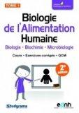 Biologie de l'Alimentation Humaine