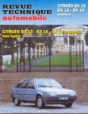 Citroën BX15 BX16 BX19 essence