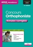 Concours orthophoniste 2016