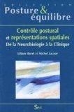 Contrôle postural et représentations spatiales