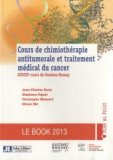 Cours de chimioth�rapie antitumorale et traitement m�dical du cancer