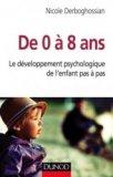 De 0 à 8 ans - Le développement psychologique de l'enfant pas à pas