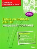 Entr� en instituts d'AS-AP Annales et corrig�s