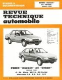 Ford ''Escort'' et ''Orion'' depuis 1986