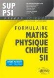 Formulaire Math�matiques - Physique-Chimie -SII - MPSI-PCSI-PTSI / PSI