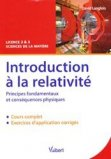 Introduction � la relativit�