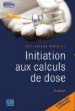 Initiation aux calculs de dose