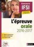L'épreuve orale 2016-2017