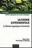 La chimie exp�rimentale - Tome 2