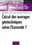 La géotechnique selon l'Eurocode 7